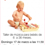Musical para bebés, taller en fun&fit