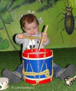estimulación musical bebes