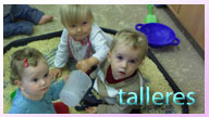 taller infantil para niño y bebé