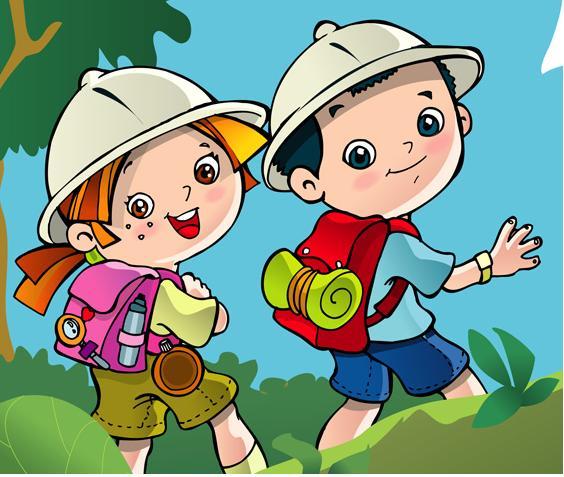 Resultado de imagen de exploradores infantiles