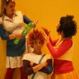 Anita pelosucio en el teatro