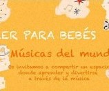 Taller musical para papás y bebes en Madrid