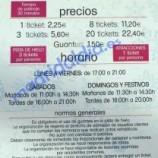 Cortylandia Sanchinarro 2014 2015, precio, horario y como llegar.
