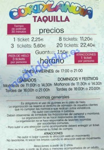 horario cortylandia sanchinarro