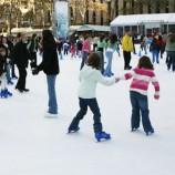 Pista de hielo navidad Madrid 2015 2016 a patinar