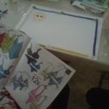 Taller de papeles pegados, collage y decora navidad