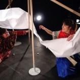 Nómadas, teatro para bebés a partir de 2 años.
