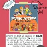 Concierto con canciones en inglés para niños