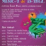 Música para niños en fámilia, concierto gratis