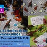 Dinosaurios el sábado con niños