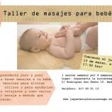 Taller de masaje para bebés en Madrid
