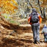 Iniciación al senderismo infantil