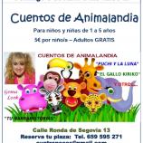 Cuentos para niños en Madrid