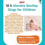 CONCIERTO EN INGLÉS DE ALONDRA BENTLEY CON SU DISCO Sings ForChildren
