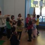 Canciones y baile en ingles para niños en Madrid