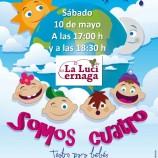 Teatro para bebés el sábado