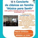 CONCIERTO DE MÚSICA CLÁSICA Y POPULAR INFANTIL CRESCENDO SEMPRE