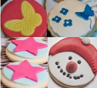 Taller para niños de hacer galletas con fondant   para bebés ...