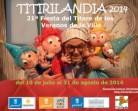 Titirilandia 2014, teatro de títeres para niños en el Retiro de Madrid