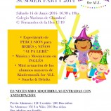 Fiesta infantil Summer Party Kindermusik for ALL 2014