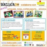 TALLER EDUCACIÓN MUSICAL PARA BEBÉS DESDE 3 MESES A 3 AÑOS GRATUITO