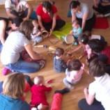 Estimulación para bebes mediante el juego musical en Madrid