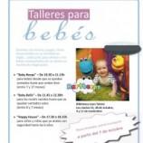 Talleres gratis para bebes en Madrid, con cariño, ternura y muy divertidos