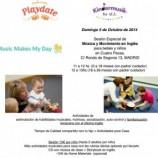 Actividades en familia, música e ingles para bebés y niños