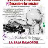 """Concierto para bebés: """"Descubro la Música"""""""