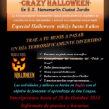 "DIAS SIN COLE: ""CRAZY HALLOWEEN"""