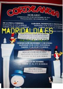 horario cortylandia 2014 2015 madrid