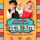Teatro para ir con niños La increible historia de un huevo frito.