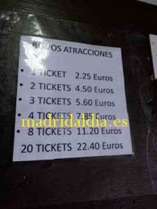 sanchinarro-tickets