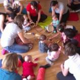 Taller de juegos musicales para bebés en Madrid