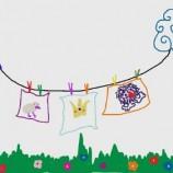 Tendiendo cuentos al viento para bebés