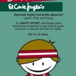 Happy Sport, actividades deportivas en inglés para niños.
