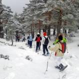 Ruta para raquetas de nieve con caldo o desayuno