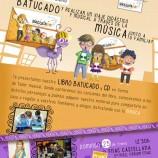 Batucado en la Fnac presentando su libro cd y con taller gratis