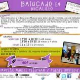 Batucado, taller para bebés en Nicalileo Alcobendas