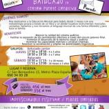 Batucado, taller para bebés en Centro Puente Creativa Madrid