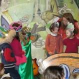 Taller de disfraces y teatro con niños en Madrid