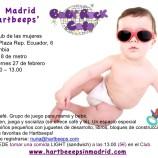 Grupo de juego para bebés en Madrid