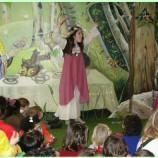 Cuento teatralizada para niños en Madrid
