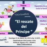 Títeres, cuentos y diversión para niños en Madrid