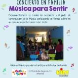 """Concierto en familia """"Música para Sentir"""""""