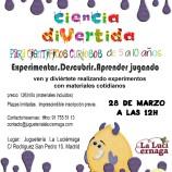 Taller de Ciencia divertida para niños en Madrid
