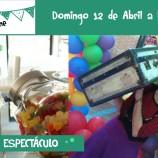 Sacha y su pequeña maleta taller espectáculo comer con niños restaurante Madrid