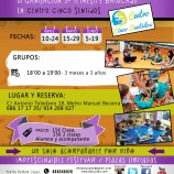 Batucado, taller para bebés en Centro Cinco Sentidos Madrid
