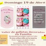 taller de galletas decoradas del 19 de abril