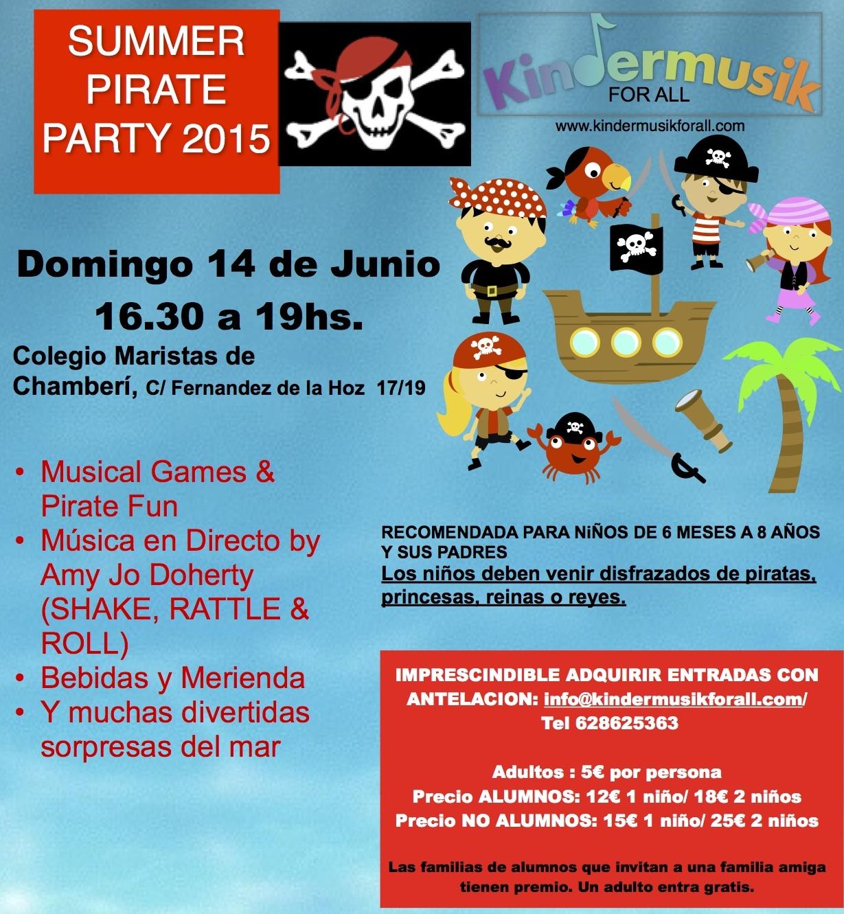 Fiesta pirata en madrid para bebés niños jóvenes jpg 1229x1331 Que venir de  mar ninos del 13dcd552928e
